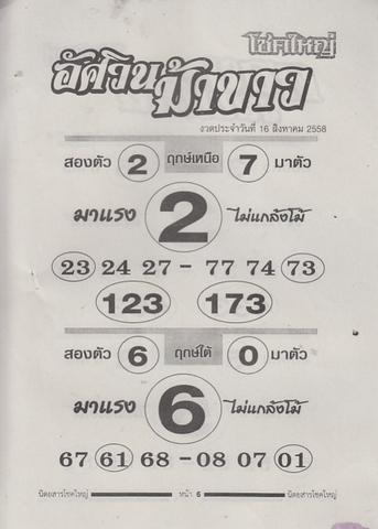 16 / 08 / 2558 MAGAZINE PAPER  Chokeyai_6