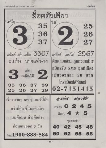 16 / 08 / 2558 MAGAZINE PAPER  - Page 3 Ruaychoke_10