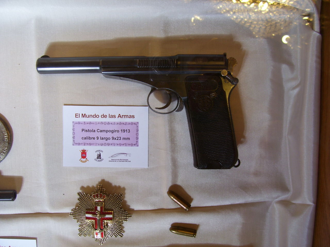 """Exposición """"EL MUNDO DE LAS ARMAS"""", Burgos, 10-25 Mayo 2013. 20130512_Burgos_032"""
