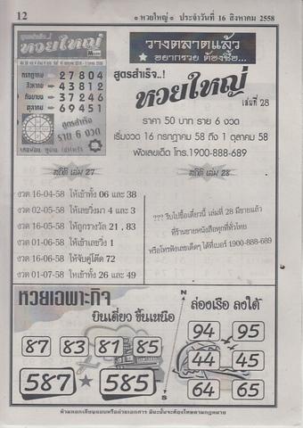 16 / 08 / 2558 MAGAZINE PAPER  Huayyai_12