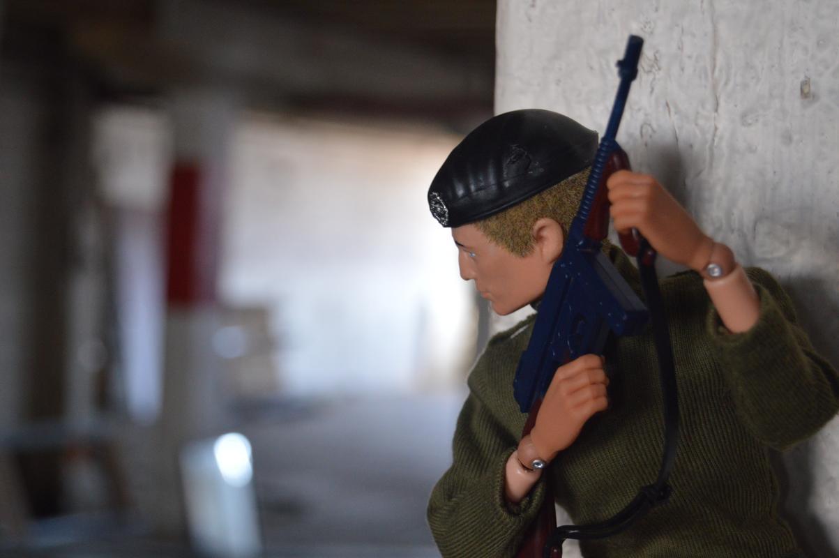 Georgie Warehouse Mission: Day 1 (Fightin' Irish Photo Tribute) DSC_0015