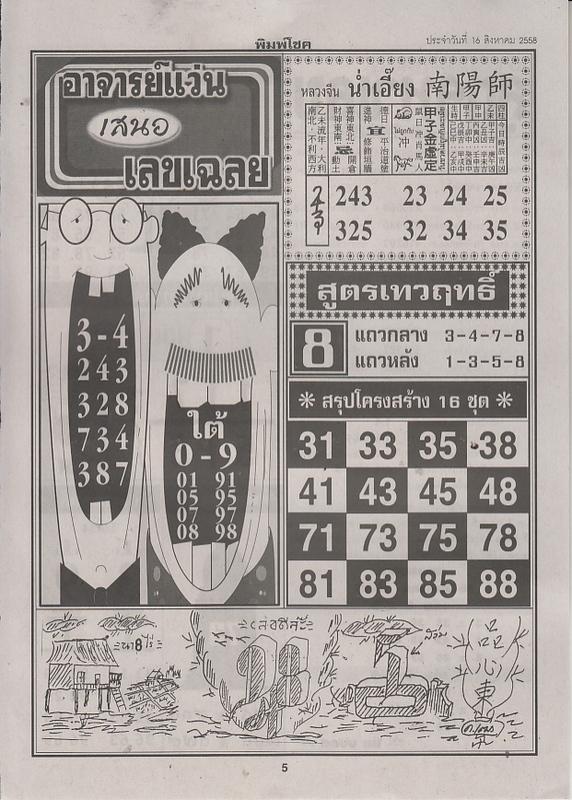 16 / 08 / 2558 FIRST PAPER Pimchoke_5