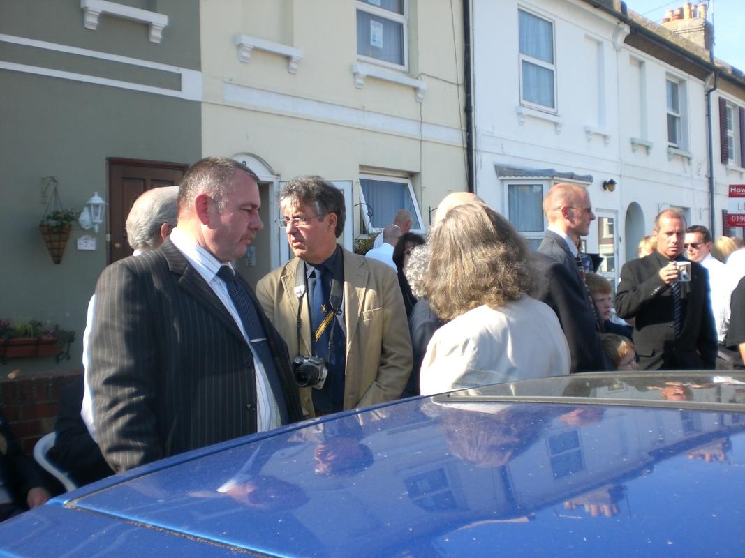Private  William Cooper Event in Worthing Sussex CIMG3725
