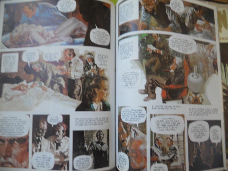 los amantes del comics de terror.................... 059