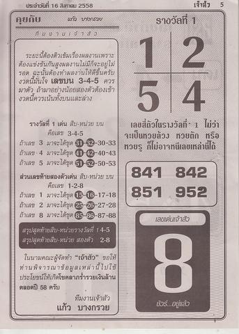 16 / 08 / 2558 MAGAZINE PAPER  Jaosure_5