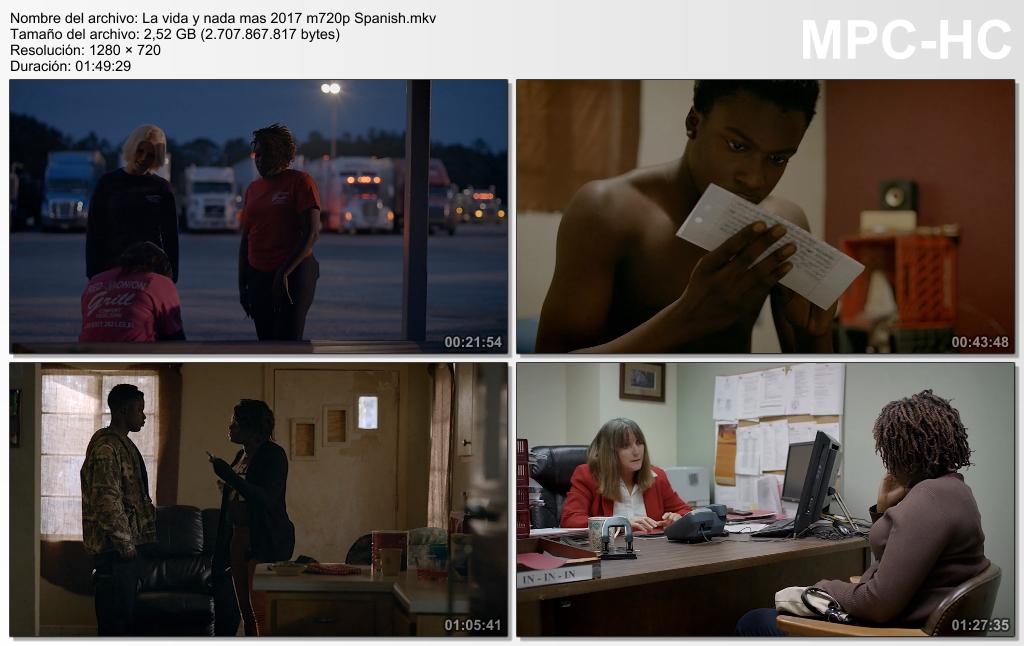 La vida y nada más (2017) [Ver + Descargar] [HD 720p] [Castellano] [Drama] La_vida_y_nada_mas_2017_m720p_Spanish.mkv_thumbs