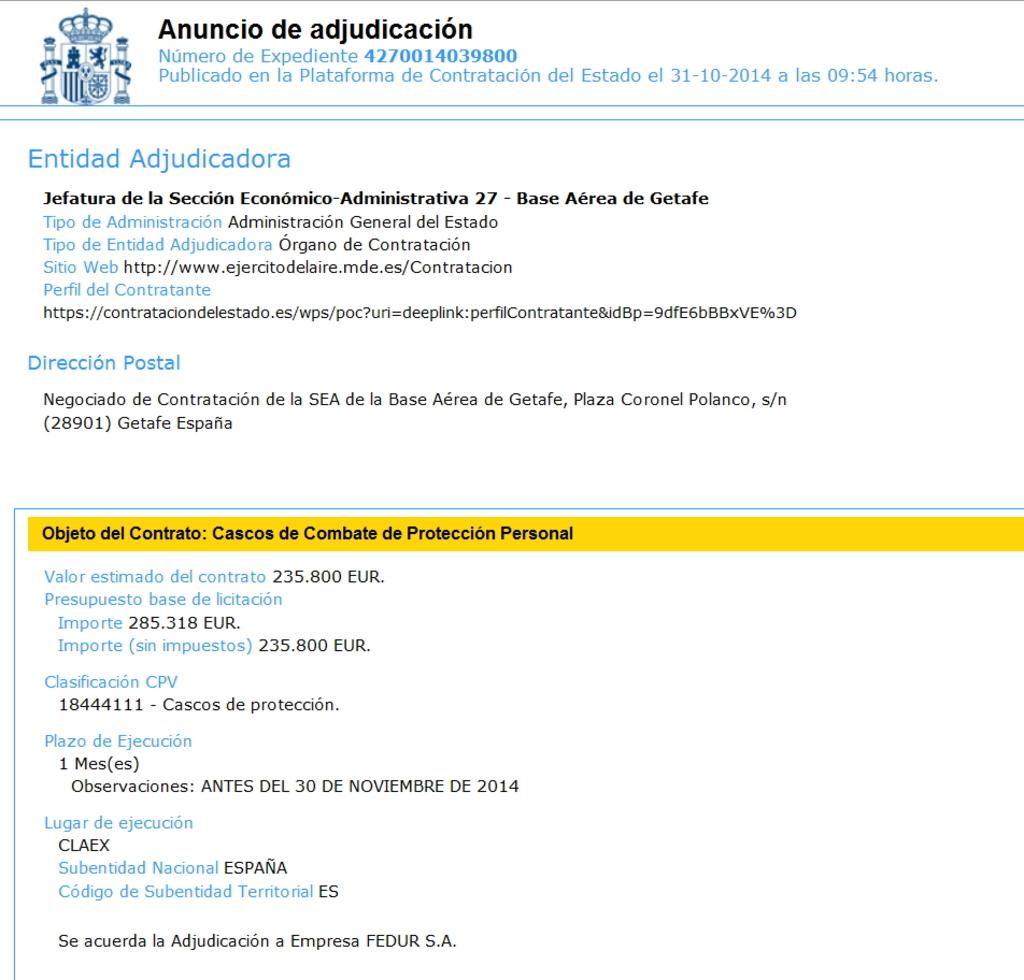Noviembre de 2014 - Diciembre de 2016. Nuevo casco de combate para el Ejército español. Screenshot_265