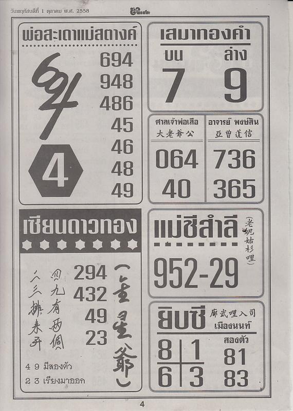 01 / 10 / 2558 FIRST PAPER Tingkanomjean_4