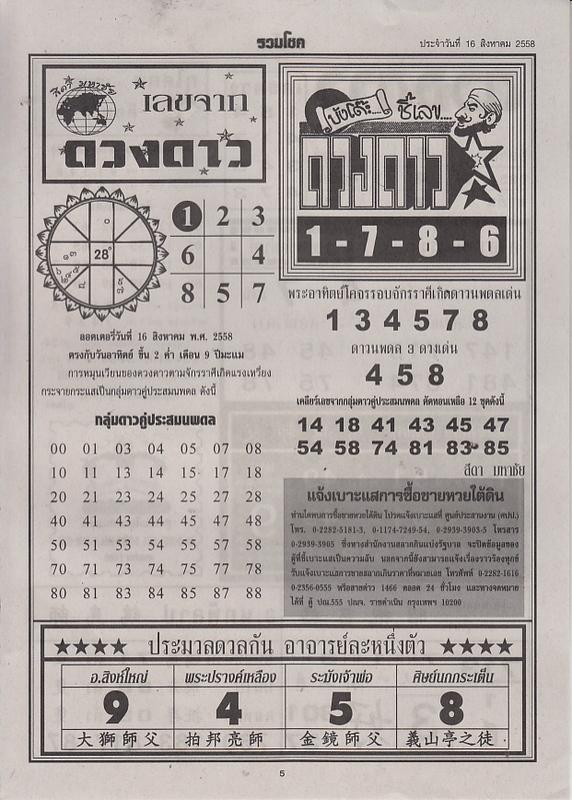 16 / 08 / 2558 FIRST PAPER Ruamchoke_5