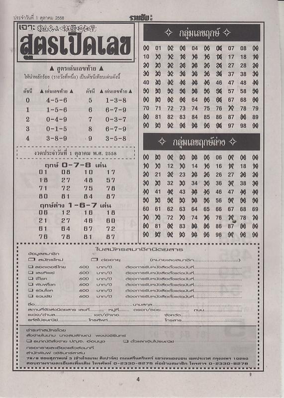 01 / 10 / 2558 FIRST PAPER Ruamchai_4
