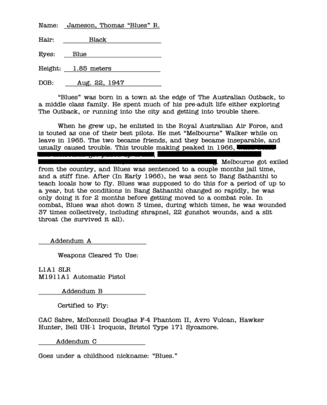 Top Secret - Operation Dropkick - Did/Does your Action Man have a name? - Page 6 Blues_Jameson_Dossier