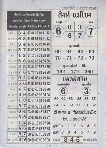 16 / 08 / 2558 MAGAZINE PAPER  - Page 4 Sornikom_2