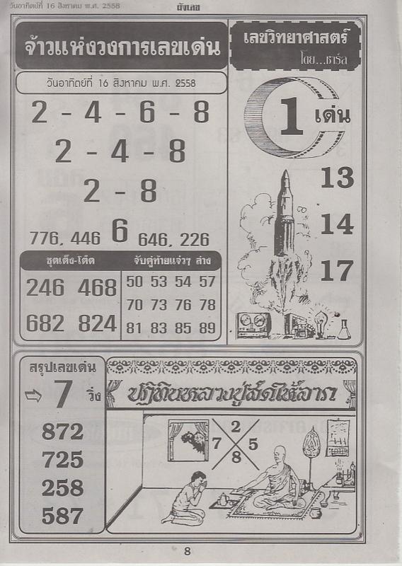 16 / 08 / 2558 FIRST PAPER Panglek_8