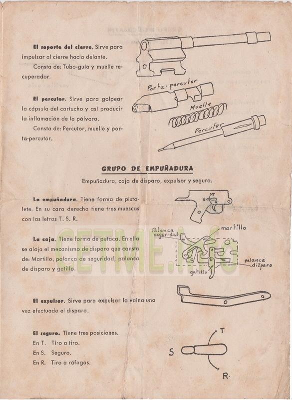 Folleto descriptivo del Fusil de Asalto B Mod.58 Folleto_Descriptivo_CETME_58_003b