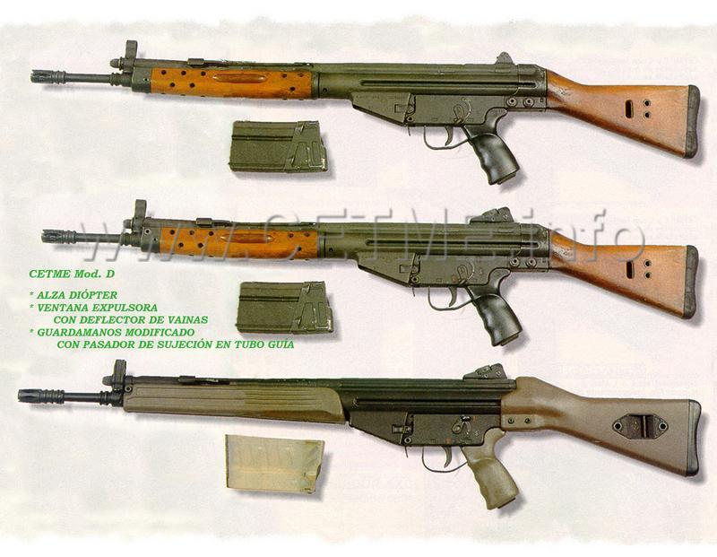 """Apuntes del libro """"CETME 50 años del fusil de asalto español"""" Armas_n_158_pp018e"""