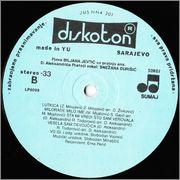 Biljana Jevtic  - Diskografija  1983_vb