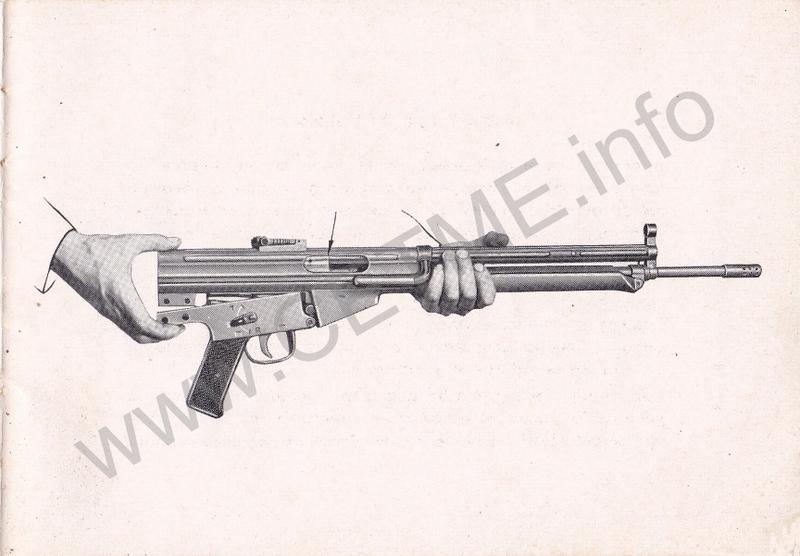 1956 - DESCRIPCION ABREVIADA DEL FUSIL DE ASALTO CETME - CETME A-2a  1956_CETME_A-2a_FORO_033