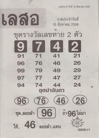 16 / 08 / 2558 MAGAZINE PAPER  - Page 2 Lekloylam_11