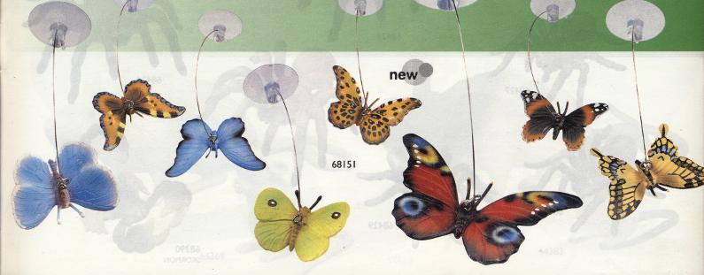 Butterflies on Strings (Bullyland) Bully_Butterflies