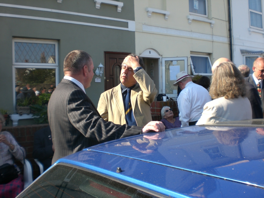 Private  William Cooper Event in Worthing Sussex CIMG3727