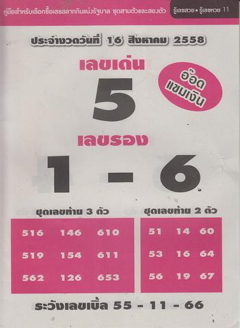 16 / 08 / 2558 MAGAZINE PAPER  - Page 4 Rueleksuay_11