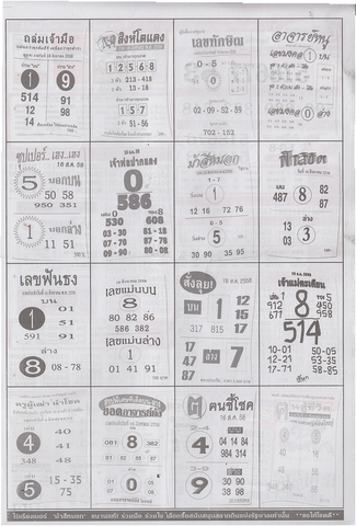 16 / 08 / 2558 MAGAZINE PAPER  - Page 2 Lottery_result_022