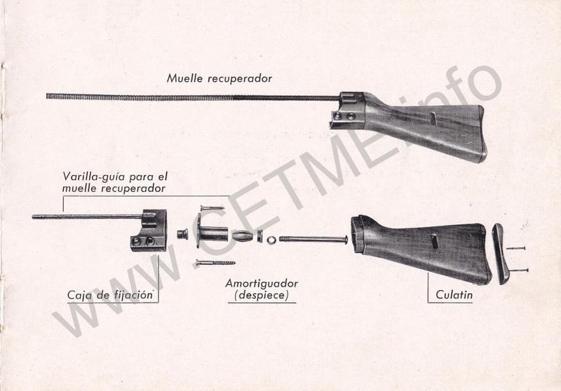 1956 - DESCRIPCION ABREVIADA DEL FUSIL DE ASALTO CETME - CETME A-2a  1956_CETME_A-2a_FORO_015