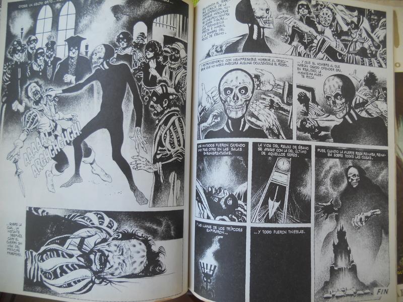 los amantes del comics de terror.................... 058