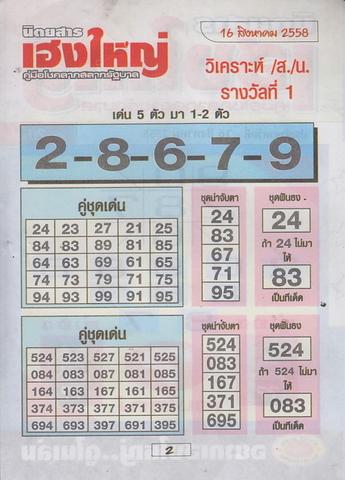 16 / 08 / 2558 MAGAZINE PAPER  Heangyai_new_book_2