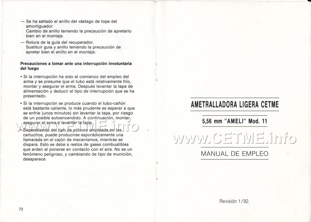 MT-1005-016-10 - AMELI Mod.11 Revisión 01/92 AMELI_Mod11_Rev1_92_003