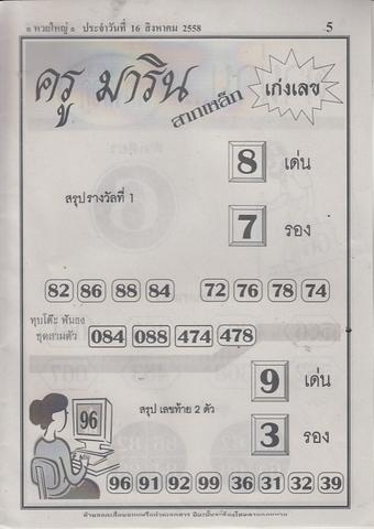 16 / 08 / 2558 MAGAZINE PAPER  Huayyai_5