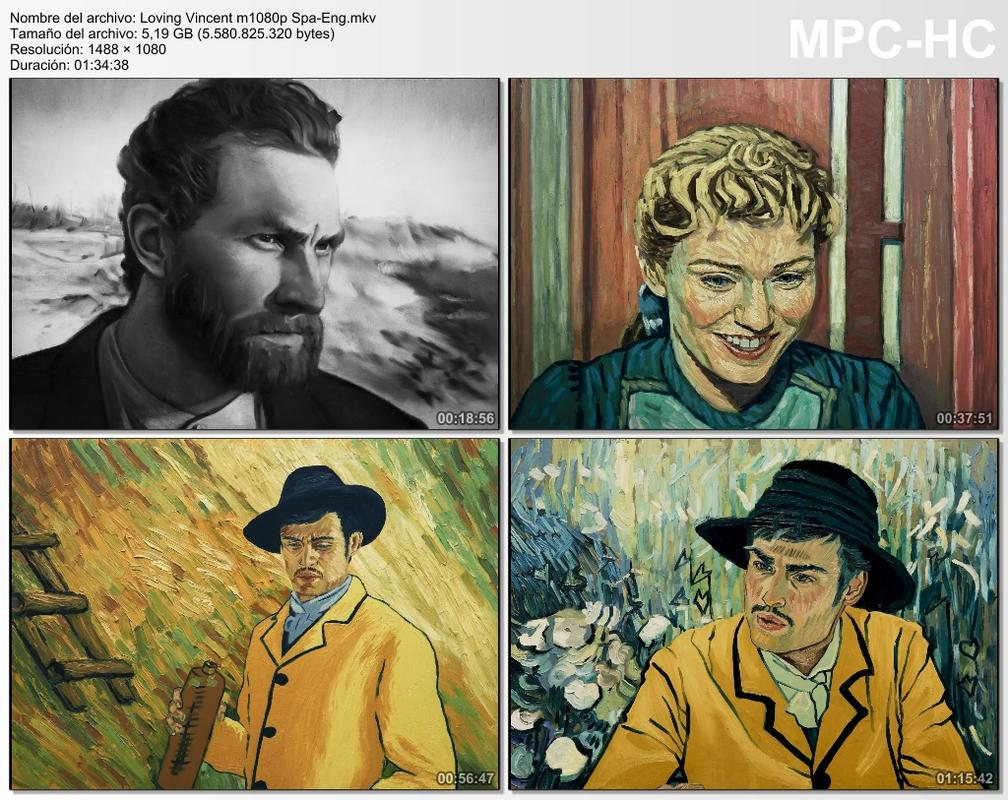 Loving Vincent (2017) [Ver Online] [Descargar] [HD 1080p] [Esañol-Inglés] [Drama] Loving_Vincent_m1080p_Spa-_Eng.mkv_thumbs