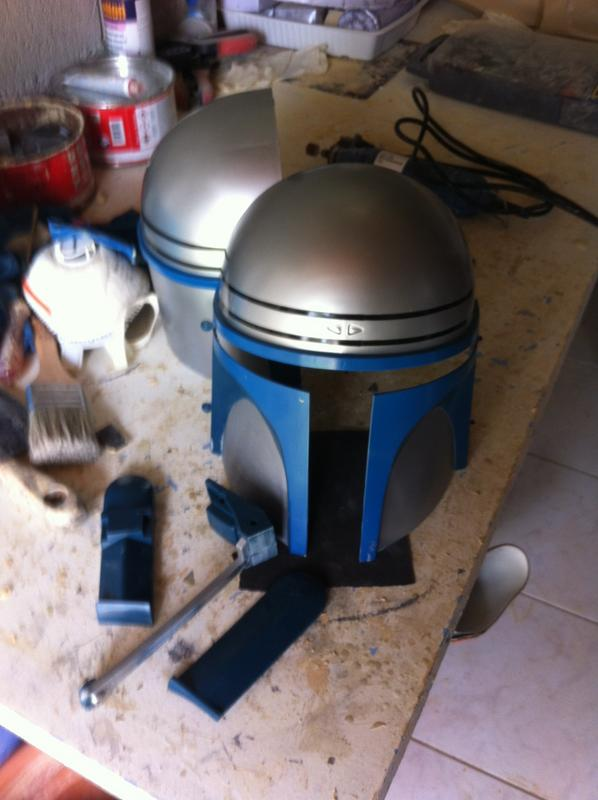 CUSTOMISATION CASQUE JANGO FETT Image