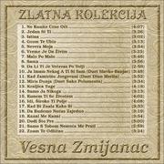 Zlatna kolekcija edicija - Kolekcija Vesna_Zmijanac_2014_-_Zlatna_Kolekcija_Zadnja