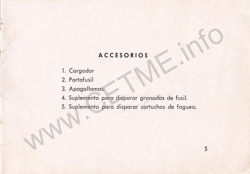 1956 - DESCRIPCION ABREVIADA DEL FUSIL DE ASALTO CETME - CETME A-2a  1956_CETME_A-2a_FORO_007