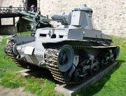 Немецкий легкий танк PzKpfw 35(t) (LT vz.35). Военный музей в замке Калемегдан, г.Белград SG201764