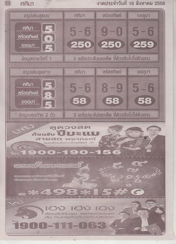16 / 08 / 2558 MAGAZINE PAPER  - Page 4 Sasima_10