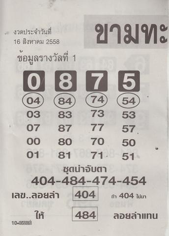 16 / 08 / 2558 MAGAZINE PAPER  - Page 2 Lekloylam_10