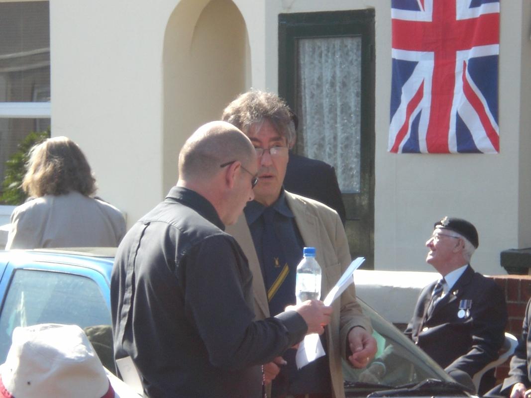 Private  William Cooper Event in Worthing Sussex CIMG3688