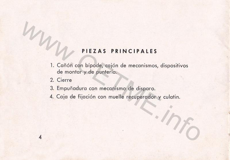 1956 - DESCRIPCION ABREVIADA DEL FUSIL DE ASALTO CETME - CETME A-2a  1956_CETME_A-2a_FORO_006