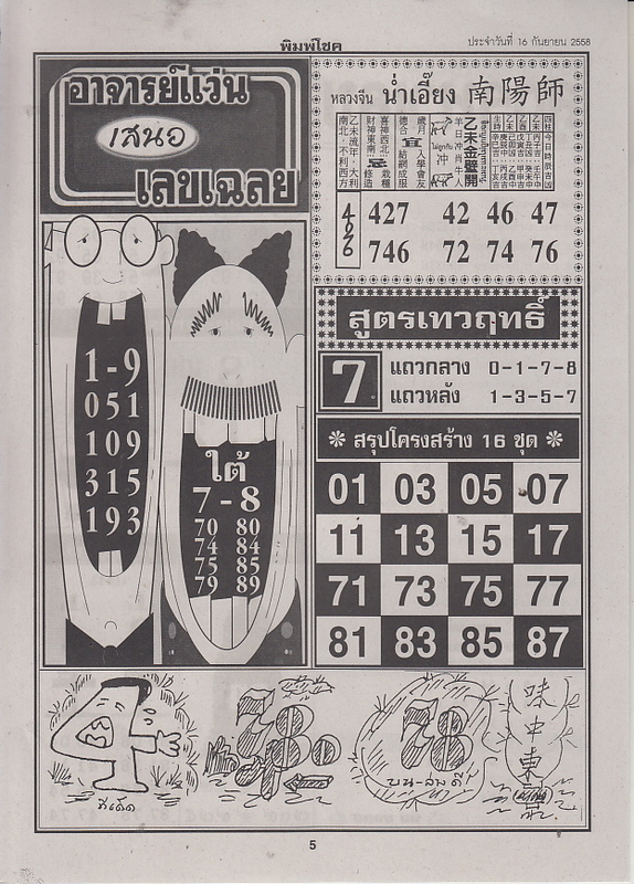 16 / 09 / 2558 FIRST PAPER . Pimchoke_5