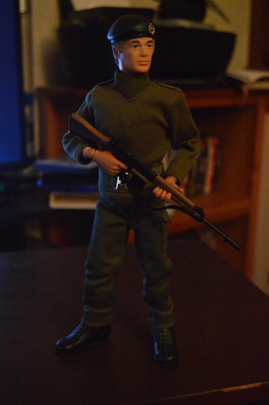 Georgie as a Basic Soldier DSC_0363