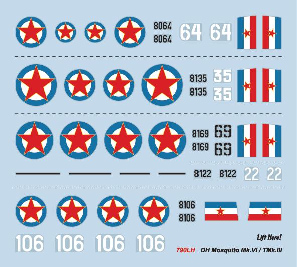 Prodaja- novi setovi Lift Here-a u 1/72 omjeru 790lh-decals