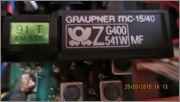 GRAUPNER MC-15 / 40MHz  MC_15_12