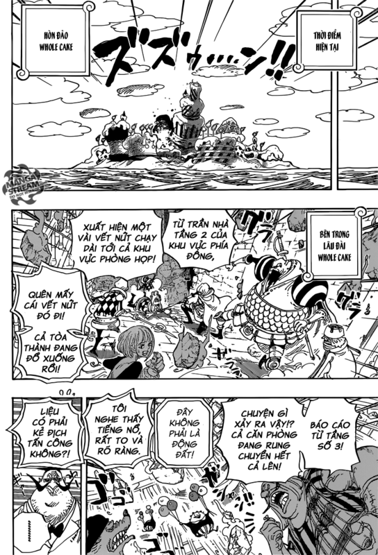 [BẢN VIỆT] One Piece Chapter 871: GO CAESAR! Image