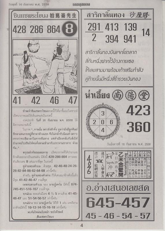 16 / 09 / 2558 FIRST PAPER . Leksudyod_4