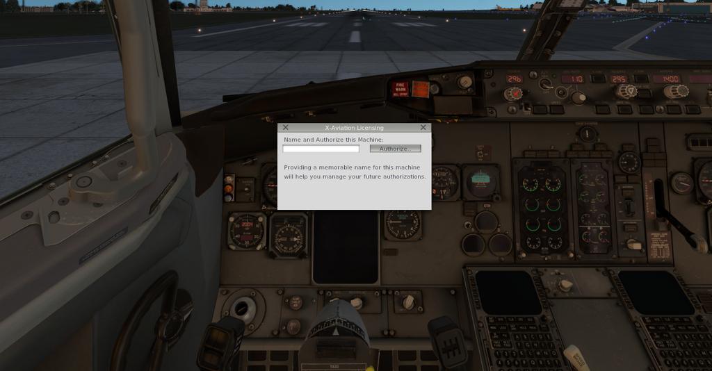 Ixeg 737 licença não entra. B733_3