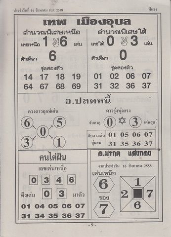 16 / 08 / 2558 MAGAZINE PAPER  Funthong_9