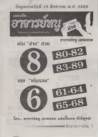 16 / 08 / 2558 MAGAZINE PAPER  Ajannu_5