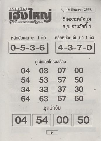 16 / 08 / 2558 MAGAZINE PAPER  Heangyai_new_book_6